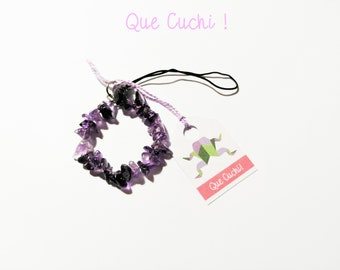 Jewel for mobile amethyst