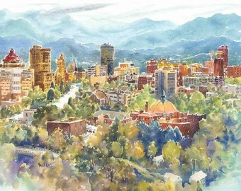 Asheville, Land of the Sky