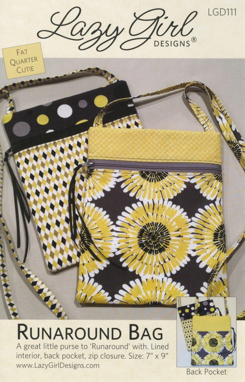 Runaround Bag Pattern From Lazy Girl Designs LGD111