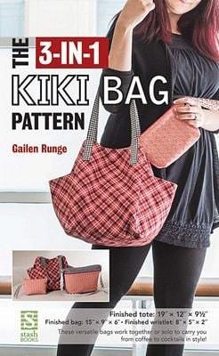 The 3 in 1 Kiki Bag Pattern CT80082