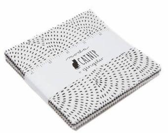 Catnip Charm Pack by Gingiber for Moda Fabrics 48230PP