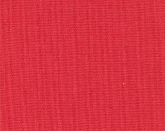 Moda Bella Solids Yardage Betty's Red - 123