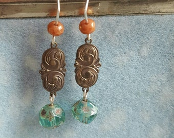 Small Hanging Picasso Earrings