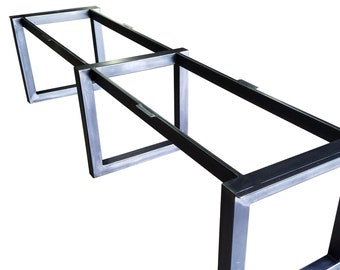steel table base - Metal Frame Coffee Table