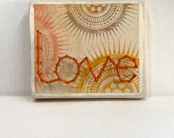 Love String Art Mini sign