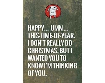 Happy UnChristmas Card