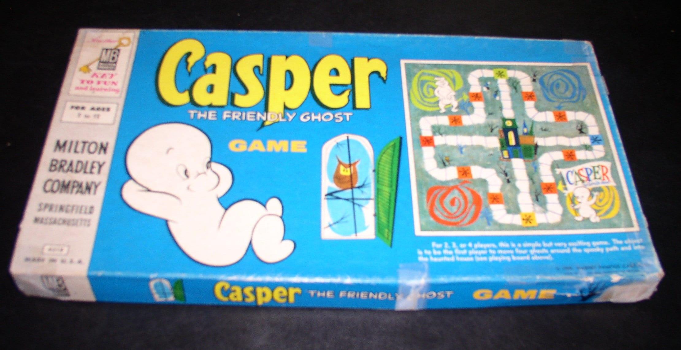 Casper the Friendly Ghost Board Game, Milton Bradley 1959
