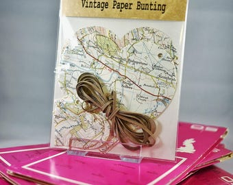 Vintage Paper Bunting