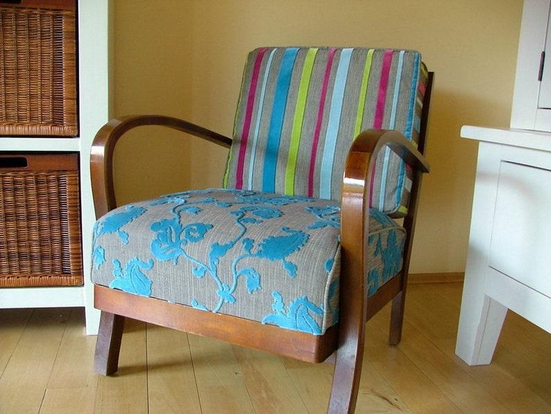 Einzigartiger 50er Jahre Sessel Designerstuck