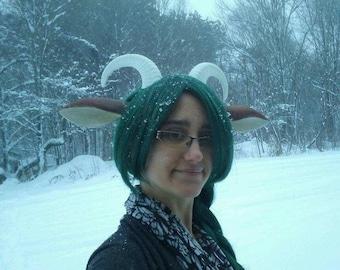 Faun Horns, Adjustable on Headband