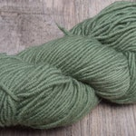 Monica's Green Cable Sweater