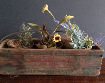 Old Cheese Box with Handle