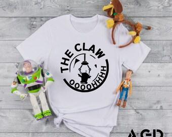 The Claw, White Claw, Funny, Aliens Buzz Lightyear, Toy Story, , Kids, Toddler, Disney World, Disney Land, Toy Story Land, Pixar