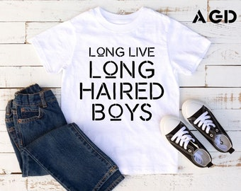 Long Live Long Haired Boys, Surfer Tee, Chill Life, , Cool, Shirt, Onesie, Kids, Toddlers, Infants
