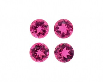 Multi Color Tourmaline Cabs Round 2.5mm Approximately 3 Carat 30408 Stone Mixed With Rainbow of Vibrant Colors October Birthstone