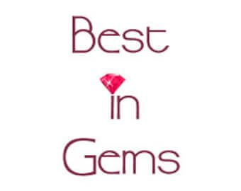 Best in Gems Certificate of Authenticity