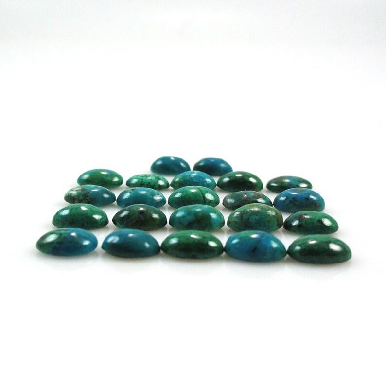 9724 Chrysocolla 6x4x2mm Oval Shape Sale by Best in Gems