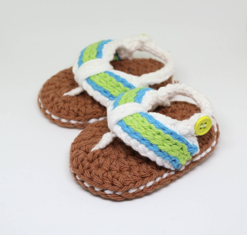 2332008543a4e Baby Flip Flops - Baby Slippers - Baby Beach Shoes - Summer Baby Shoes -  Baby Shower Gift - Newborn Sandals - Unisex Baby Sandals