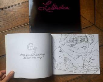 Erotic Adult Coloring Book-