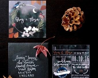 Wedding Invitation Template, Wedding Invitation, Wedding Invitations, Wedding Invites, Printable Wedding Invitation, Invitations Printable