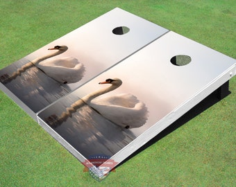 Custom Mallard Cammo Graphic Cornhole Boards