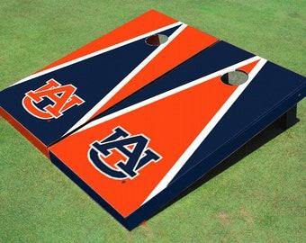 Auburn University Alternating Triangle Cornhole Boards