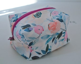 Boxy Bag | Boxie Bag | Travel Bag | Cosmetic Bag | Makeup Bag | Overnight Tote | Art Supply Bag | Art Supplies Tote | Craft Bag | Craft Tote