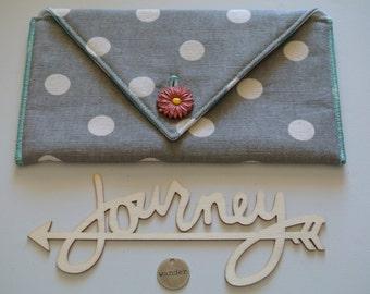 Small Clutch | Art Supplies bag | Accessories pouch | makeup bag | Journal Holder | Pen Holder | Craft Pouch | Pouch | Small Bag