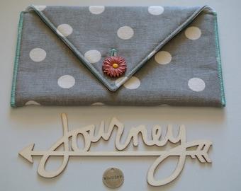 CLEARANCE SALE | Small Clutch | Art Supplies bag | Accessories pouch | makeup bag | Journal Holder | Pen Holder | Craft Pouch | Pouch