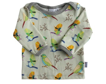 Birds Baby Clothes Newborn T Shirt With Sparrow Bird Shirt