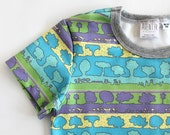 Kids Nature shirt. T-shirt with Trees. Camping shirt. Toddler tree clothes. ORGANIC Baby boy tops. Girls tree tee. Gender neutral clothes.