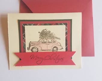 Merry Christmas Cards set of 10