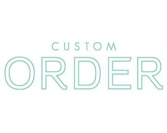 Custom print order for Janice