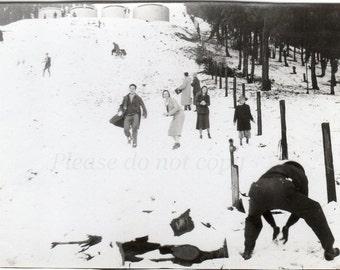 1932 Winter Snowball FIGHT