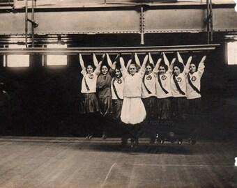 Antique Girls Sports Photograph