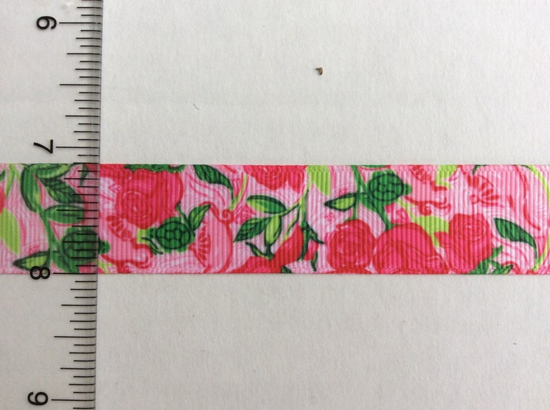 e7dfae76d36491 Lilly Pulitzer inspired Delta Zeta sorority roses print pink | Etsy