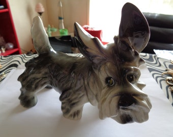 Vintage Ceramic Griffin Dog