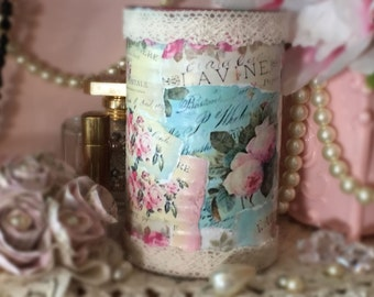 Shabby Chic JARS & CANS