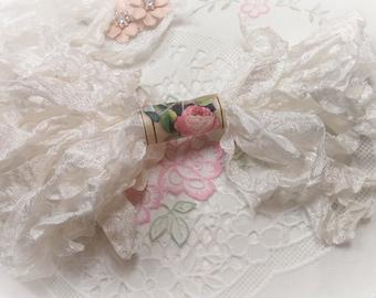 White Seam Binding Ribbon - Crinkle Wrinkle Satin Crafting Card Making Gift Tag Paper Craft  Embellishment Planner Scrapbook Journal Supply
