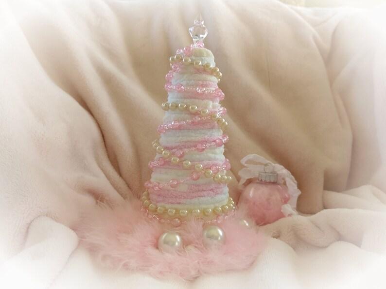 Shabby Chic Christmas Tree  Shabby Chic Christmas Decor  image 0