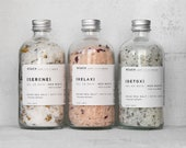 Mother's Day Spa Gift Set - Dead Sea Salt bath soaks 8 OZ