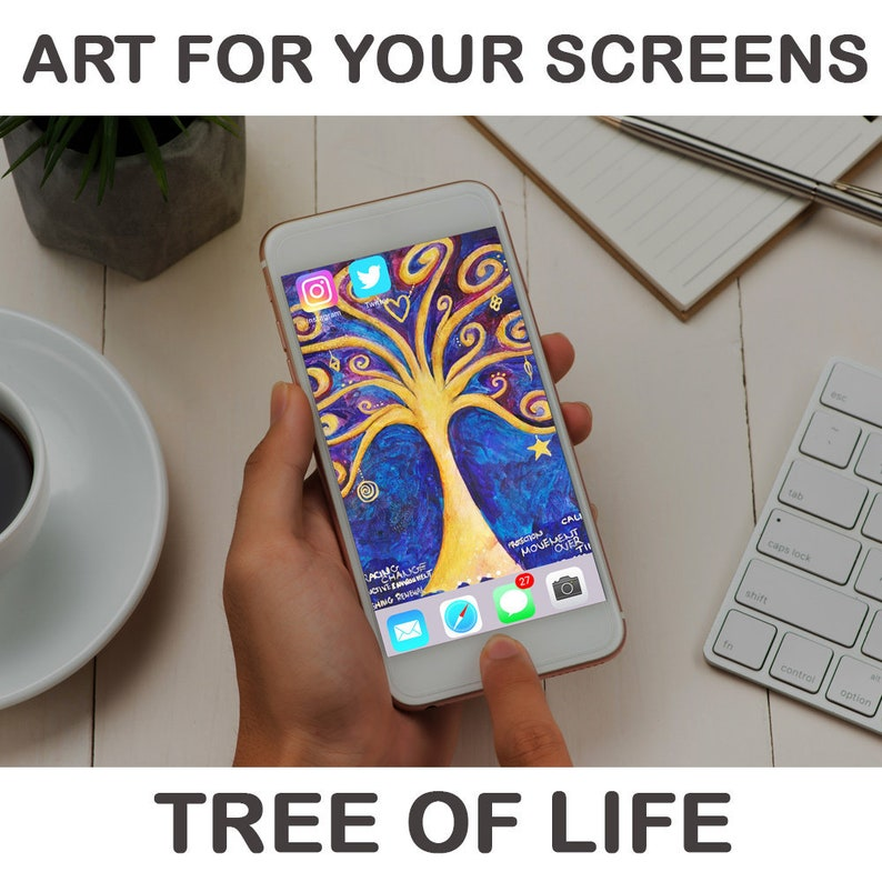 Art for your screens  'Tree of Life' image 0