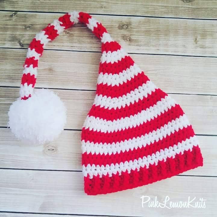 Weihnachtsmütze Elf Mütze häkeln Zipfelmütze Erwachsene Elf   Etsy