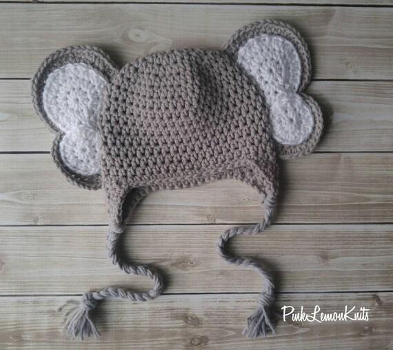 Elefant Mütze stricken Elefant Hut junge Mädchen junge   Etsy