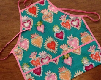 Corazon Apron - Teal