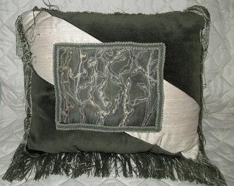 Hand Screened Decorative Pillow