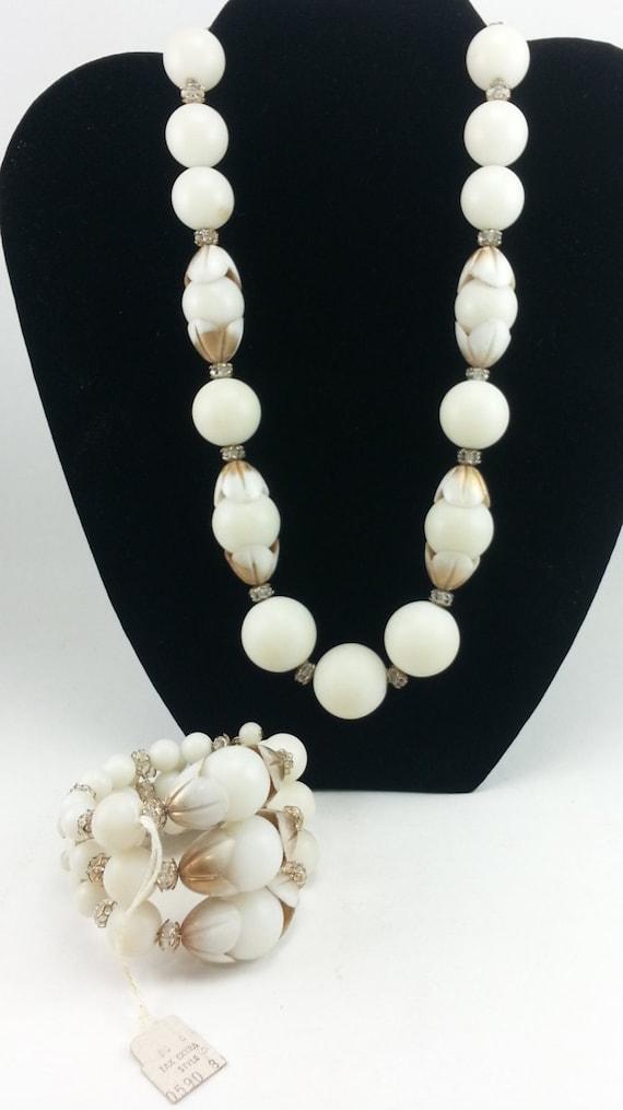 Hobe Necklace and Bracelet, Hobe Set, Hobe Demi-Pa