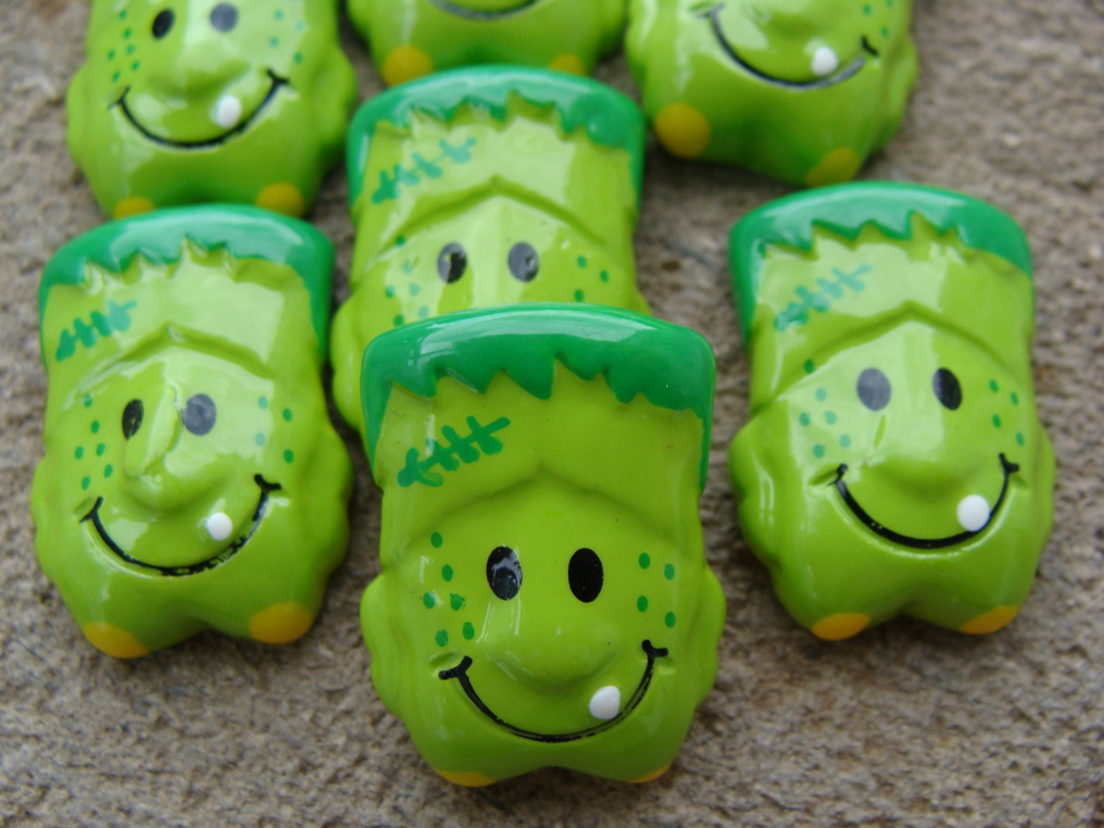 resin flatback planar resin,Frankenstein resins bride of Frankenstein cabochons Halloween resins Halloween flatbacks cabochons