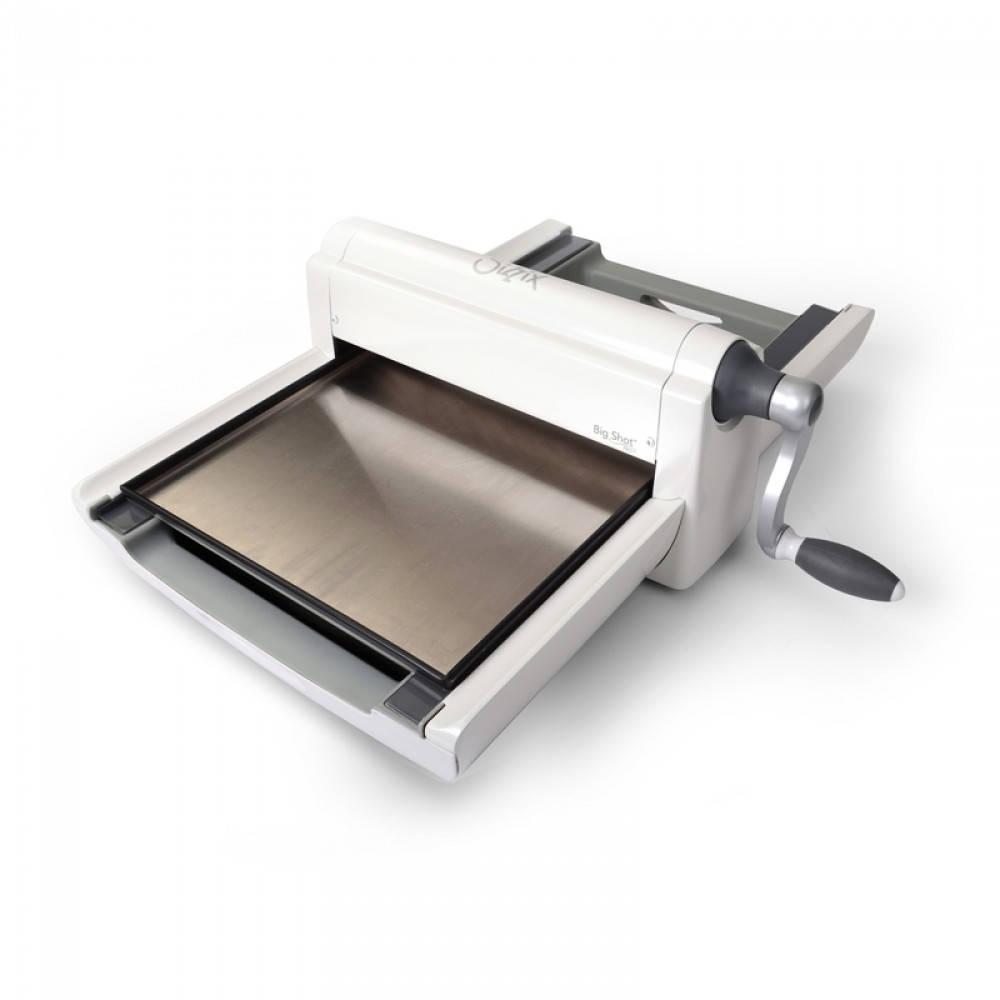 Big Shot Machine Pro, blanc & & blanc gris - Sizzix 660550 89c333