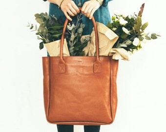 Leather tote, leather tote bag, brown leather tote, large tote bag, genuine leather tote, leather tote women, tote bag leather, womens bag